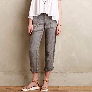 Hei hei by Anthropologie gray pants.